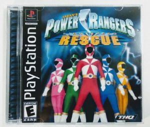 Power Rangers Lightspeed Rescue [REPLICA] - PS1 ONE