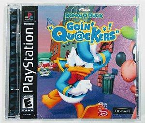Donald Duck Goin Quackers [REPLICA] - PS1 ONE
