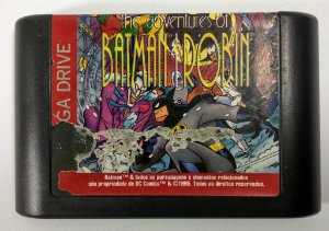 Jogo The Adventures of Batman & Robin original - Mega Drive