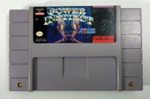 Jogo Power Instinct Original - SNES