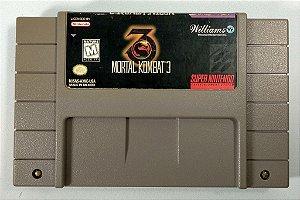 Jogo Mortal Kombat 3 Original - SNES