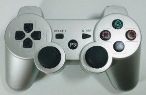 Controle sem fio Prata - PS3