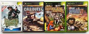 Jogos de Tiro (cada) - Xbox Clássico
