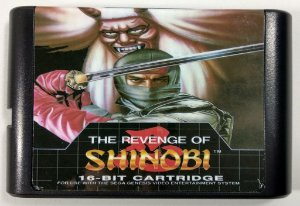 Jogo The Revenge of Shinobi - Mega Drive