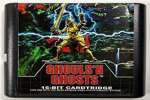 Jogo Ghoulsn Ghosts - Mega Drive