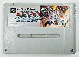 Jogo Macross Scramble Valkyrie Original - Super Famicom