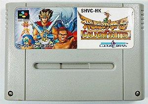 Jogo Golden Fighter Original - Super Famicom