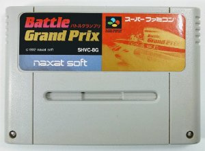 Jogo Battle Grand Prix Original - Super Famicom