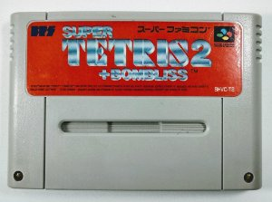 Jogo Super Tetris 2 + Bombliss Original - Super Famicom