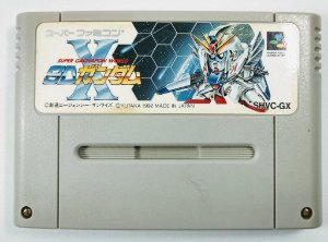 Jogo Super Gachapon World SD Gundam X - Super Famicom