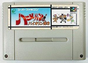 Jogo Hamelin no Violin Hiki Original - Super Famicom