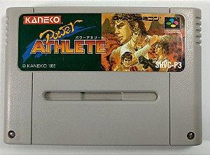 Jogo Power Athlete Original - Super Famicom