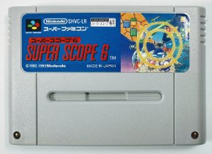Jogo Super Scope 6 Original - Super Famicom