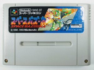 Jogo Space Bazooka Original - Super Famicom