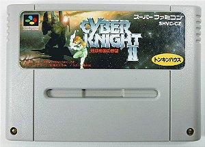 Jogo Cyber Knight II Original - Super Famicom