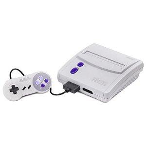 Console Super Nintendo Baby (Inclui jogo Castlevania IV)