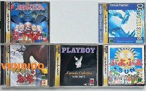 Jogos originais Japoneses (cada) - Sega Saturn