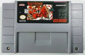 Jogo Secret of Evermore - SNES