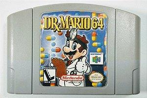 Jogo DR. Mario 64 Original - N64