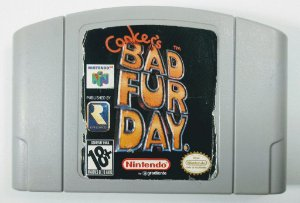 Jogo Conkers Bad Fur Day Original - N64