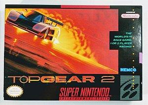 Jogo Top Gear 2 - SNES