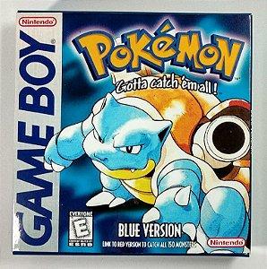 Jogo Pokemon Blue - GBC