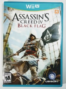Jogo Assassins Creed IV: Black Flag Original - Wii U