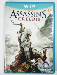 Jogo Assassins Creed III Original - Wii U