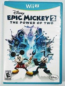 Jogo Disney Epic Mickey 2: The Power of Two Original - Wii U