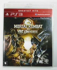 Jogo Mortal Kombat vs DC Universe - PS3