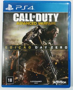 Jogo Call of Duty Advanced Warfare edição Day Zero - PS4