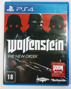 Jogo Wolfenstein the New Order - PS4