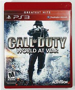 Jogo Call of Duty World at War - PS3