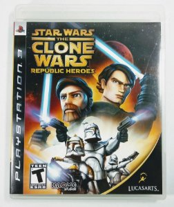 Jogo Stars Wars the Clone Wars Republic Heroes - PS3