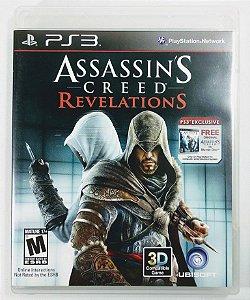 Jogo Assassins Creed Revelations - PS3
