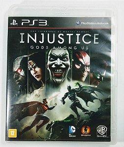 Jogo Injustice Gods Among Us - PS3