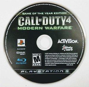 Jogo Call of Duty 4 Modern Warfare - PS3