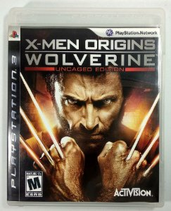 Jogo X-men Origins Wolverine - PS3