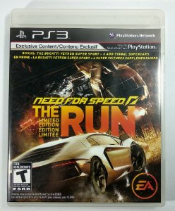 Jogo Need for Speed The Run Limited Edition - PS3