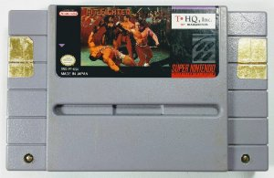 Jogo Pit-Fighter Original - SNES