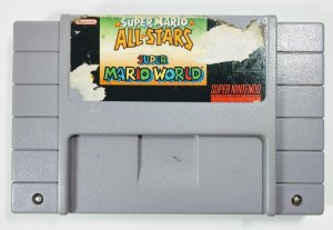 Jogo Super Mario All Stars + Super Mario World Original - SNES