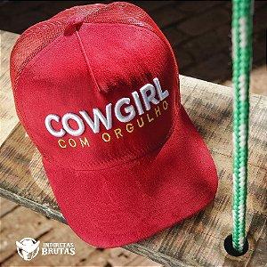Boné Cowgirl Com Orgulho
