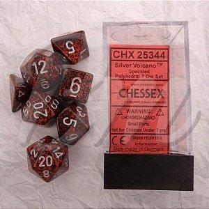 Set de Dados Chessex Mesclado D&D 7 peças