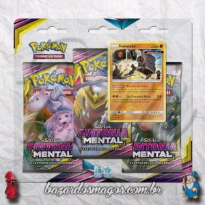 Triple pack Pokemon Sintonia mental