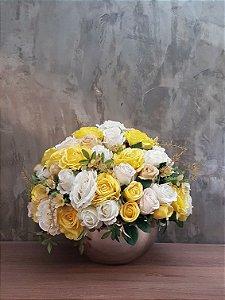 Rosas amarelas 60cm