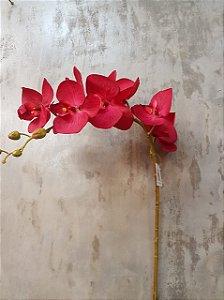 Orquídea Phalaenopsis Vermelho 105CM