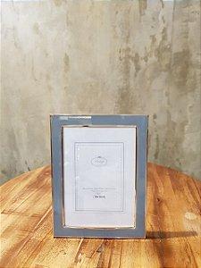 PORTA RETRATO 35345 PLAST CLEAN LINE ROSE GOLD 10X15CM