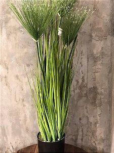 F GRASS 36303-001 PAPIRO C/ POTE VERDE 75CM