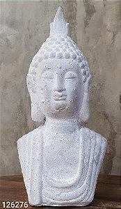 DECOR 43821 CONCRET BUDDAH BODY CINZA 20CM