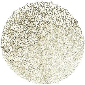 LUGAR AMERICANO DE PVC MINSK GOLD 38CM 27452 (imagem meramente,talher e prato n acompanha)